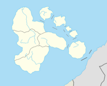Location of the host city.