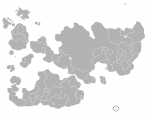 Map showing Lost Islands in Internatia