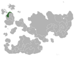 Map showing Haven in Internatia