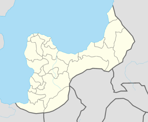 Location of the host city in Yazminia.