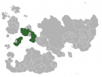 Map showing Volnytaria in Internatia