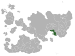 Map showing Spirevo in Internatia